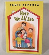 """""""Here We All Are"""" Children's Hard Cover Book Sharing Family Childhood Memories Age 7 - 10 Grade ... in Morris, Illinois"""