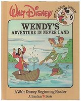 Walt Disney Vintage 1985 Wendy's Adventure In Never Land Children's Hard Cover Book in Oswego, Illinois
