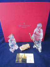 WATERFORD CRYSTAL Nativity Millennium Gold EXCELLENT in Boxes in Naperville, Illinois