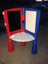 Little Tikes Easel with Desk in Naperville, Illinois