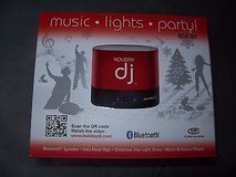 NEW IN BOX holiday dj party machine bluetooth speaker creates musical light show!!! in Naperville, Illinois