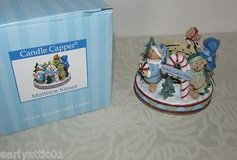 "NEW In Box Old Virginia Candle ""Mistletoe Kisses"" Candle Capper Christmas Candle Stopper in Chicago, Illinois"