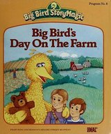 RARE 1985 Big Bird's Day on the Farm (Little Golden Readers) in Chicago, Illinois