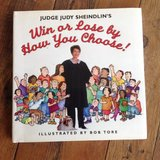 Judge Judy Sheindlin's Win or Lose by How You Choose Children's Book Age 7 - 12 **  Grade 2nd -t... in Joliet, Illinois