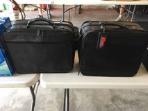 2 Targus Leather Computer Bags....New!  Beautiful in Yorkville, Illinois