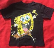 Boys T-shirt Sponge Bob sz M 7/8 Nickelodeon in Naperville, Illinois