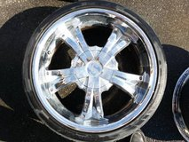 Set of 4 20 inch U2 model 35 wheels in Yucca Valley, California