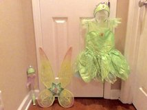 Disney Tinker Bell Costume 5-6 size in Clarksville, Tennessee