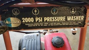 All Power 2000 PSI Pressure Washer in Hopkinsville, Kentucky