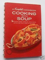 Vintage 1974 A Campbell Cooking with Soup Cookbook with 608 Recipes in Plainfield, Illinois