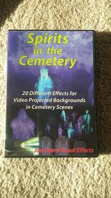 SPIRITS IN CEMETERY DVD - Jon Hyers HalloweenVideo Projection Effects in Morris, Illinois