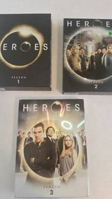 Heroes Season 1-3 DVDS in Camp Pendleton, California