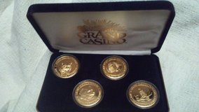 grand casino avoyelles wildlife series collector coins gold plated 1979 in Kingwood, Texas