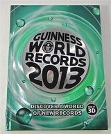 Guinness World Records 2013 Hard Cover Coffee Table Book HUGE 288 Pages in Joliet, Illinois