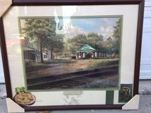 FRIED GREEN TOMATOES - WHISTLE STOP IN JULIET, GA - FRAMED  PICTURE in Macon, Georgia