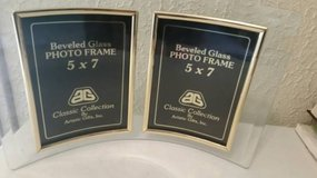 5x7 new Beveled glass dual photo holders in Camp Pendleton, California