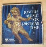 joyous music for christmas time 4 record box set vinyl in excellent condition in Naperville, Illinois
