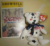Ragtime Musical Ty Glory Beanie Playbill Showbill Program NYC Lea Michele in Plainfield, Illinois