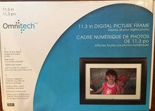 Brand New Omnitech 11.3 in Digital Picture Frame in Plainfield, Illinois