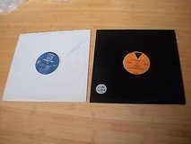 "lot of 2 vinyl records;fluke-philly-12,project & 86-resistance/legends,12""techno in Naperville, Illinois"
