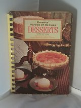 Vintage 1969 Desserts Parents' Parade Of Recipes 2000 Recipes From Elementary School Parents in Oswego, Illinois