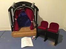 American Girl Molly&Stage, Screen Theatre and chairs in Tinley Park, Illinois