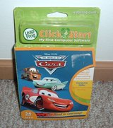 NEW Disney Pixar Cars The Road to Learning LeapFrog ClickStart Game Cartridge in Oswego, Illinois