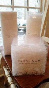 Pottery Barn Faux White Snow in Bolingbrook, Illinois