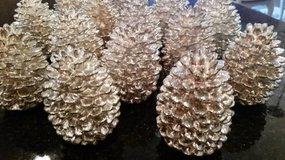 Dept. 56 Pinecones - Silver Finish - Decorative in Orland Park, Illinois