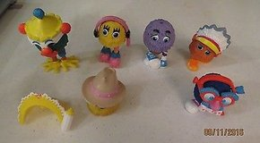 Happy Meal Toys 1989 McDonald's Fry Guys lot of 15 pcs loose in Byron, Georgia