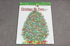 adult coloring book christmas trees creative haven in Kingwood, Texas