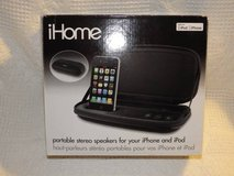 iHome portable stereo speakers for iPhone in Glendale Heights, Illinois