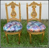 Louis XV 19th Century, Antique Chairs in The Woodlands, Texas