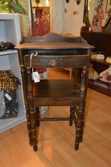 CHILD'S ANTIQUE DESK WITH CHAIR TOO! in The Woodlands, Texas