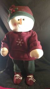 Snow Man in Fort Campbell, Kentucky
