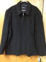 reduced--men's new black Dockers jacket in Fort Hood, Texas