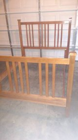 Solid Wood Queen or Full Size Bed in Fort Campbell, Kentucky