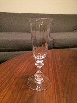 Mikasa Crystal Champagne Flutes - French Countryside - Set of 8 in Elgin, Illinois