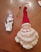Santa Ornaments in Orland Park, Illinois