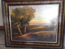 Vintage Landscape Painting in Las Cruces, New Mexico
