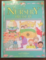 Vintage 1988 The Nursery Treasury: A Collection of Rhymes, Poems, Lullabies & Games Hard Cover Book in Plainfield, Illinois