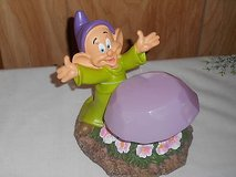 DISNEY GARDEN GNOME (DOPEY) SOLAR POWERED figurine statue! in Spring, Texas