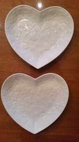 Wedgewood Classic Garden Heart Tray / Dish - 2 available in Chicago, Illinois