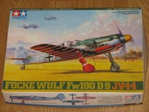 TAMIYA Focke Wulf Fw190 D9 JV44 Kit 61081 Open Box Sealed Parts Complete 2001 in Camp Pendleton, California