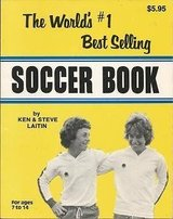 Vintage 1979 The World's #1 Best Selling Soccer Book in Morris, Illinois