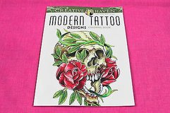 creative haven modern tattoo designs adult coloring book in Kingwood, Texas