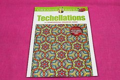 creative haven techellations 3D adult coloring book includes 3-d glasses! in Kingwood, Texas