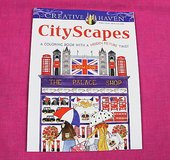 creative haven cityscapes adult coloring book with a hidden picture twist in Kingwood, Texas