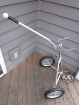 NADCO Deluxe 500 Aluminum Golf Pull Cart / Caddy VINTAGE in Aurora, Illinois