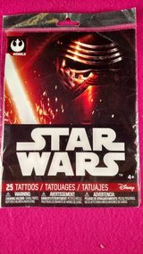 Star Wars Rebels 25 Temporary Tattoos (T=40/1) in Clarksville, Tennessee